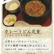 【上等カレー】カレーうどん定食