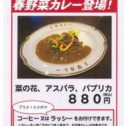 【上等カレー】春野菜カレー登場![季節限定]